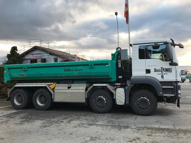 4 ess multilift benne 10m3 - Dumas Transports Lutry SA